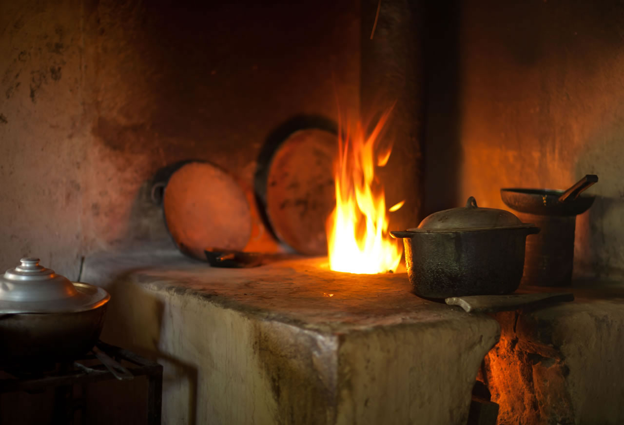 Typical oven in Central American home - Ginger Wagoner, Photographer, Photosynthesis