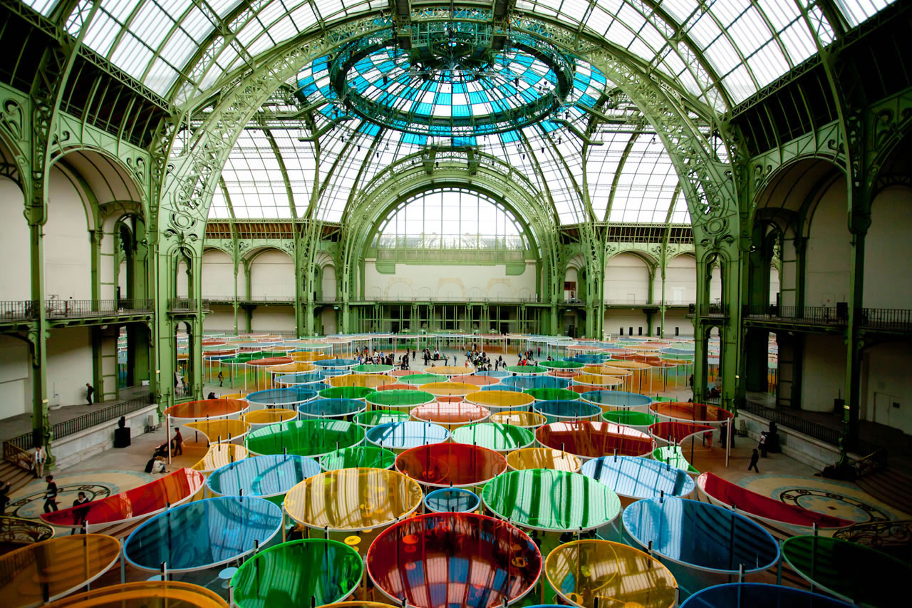 Art exhibit at Grand Palais, Paris - Ginger Wagoner, Photographer, Photosynthesis
