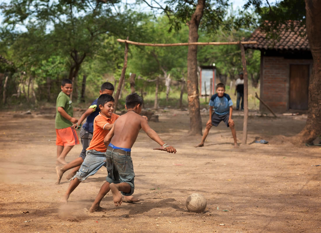 Boys playing soccer in Nicaragua - Ginger Wagoner, Photographer, Photosynthesis